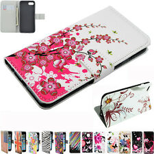 Colorful Wallet Cell Phone Flip Leather Skin Case Cover For Apple iPhone 4 4G 4S