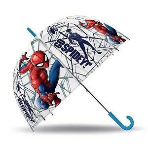 "Spiderman Go Spidey Dome Umbrella Parachute 18"" Wipeable Fabric Unisex Kids Gift"