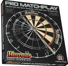 Harrows Pro Matchplay Dartboard - Steel Tip Bristle Dart Board
