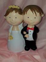 Brautpaar Dekofigur Maritim 15cm