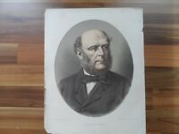 Antique prints - Old Political world figure print - President Grevy - France