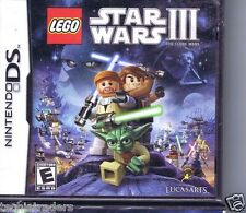 LEGO Star Wars III: The Clone Wars (Nintendo DS, 2011)   Factory Sealed