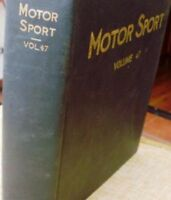 Motor Sport/ Volume 47/ The Teesdale Publishing/ 1971/January to December/London