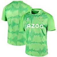 Hummel Mens Everton Home Goalkeeper Football Shirt 2020-21