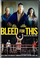 Bleed for This DVD Miles Teller Aaron Eckhart Brand New sealed ships NEXT DAY