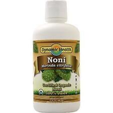 Dynamic Health Noni 100% Juice (Certified Organic)  32 fl.oz
