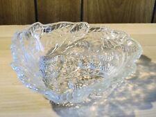 Vintage Indiana Glass Loganberry Bon Bon Dish Deoression Glass
