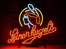 "Leinenkugels Neon Sign Display Stpre Beer Bar Pub Mancave Real Light 17""X14""T378"