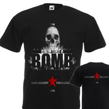 """NEW T-SHIRT """"RAGE AGAINST THE MACHINE Calm Like A Bomb """" DTG PRINTED TEE- S- 7XL"""