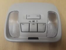 2002 VOLVO V40 FRONT OVERHEAD DOME LIGHT LAMP W/ SUNROOF SWITCHES BUTTONS G087