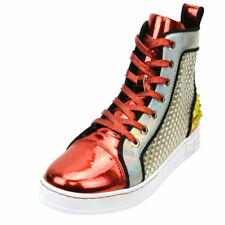 Red High Top Sneaker Encore by Fiesso