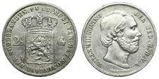 Netherlands - 2½ Gulden 1853 OVER 1852 - Willem III