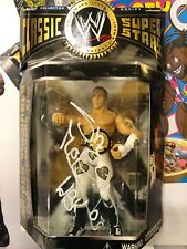 Autographed Shawn Michaels HBK Classic Action figure WWE WWF White tights