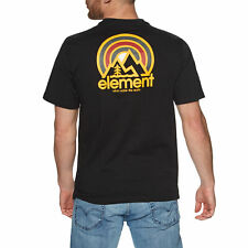 Element Sonata T-shirt Short Sleeve - Flint Black All Sizes