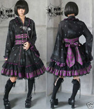 VISUAL KEI PUNK Gothic KERA Lolita Kimono Dress NANA M