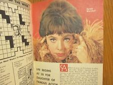 1964 Washington Evening Star TV Mag(SARAH  MARSHALL/WILD  KINGDOM/JAYNE MEADOWS)