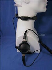 Tactical Heavy Duty Throat Microphone for Kenwood TK TH Baofeng Wouxun Radios