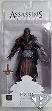 "EZIO EBONY ASSASSIN Assassin's Creed Brotherhood 7"" inch Game Figure Neca 2011"
