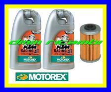 Kit Tagliando KTM 125 DUKE 12>13 + Filtro Olio MOTOREX RACING 20W/60 2012 2013