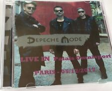 Depeche Mode Doppio CD LIVE In Palais Omnisport Paris 05/12/2017