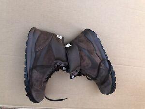 Nike Hoodland Suede Walking Boots Uk 11 Brown