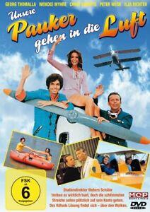 Unsere Pauker gehen in die Luft [DVD/NEU/OVP] Wencke Myhre, Georg Thomalla, Chri