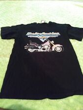 Vtg Harley Davidson New York Motorcycle Riding Rider Sport T-Shirt Sz L Men 90S