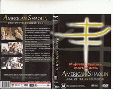 American Shaolin-King of Kickboxers 2-1991-Trent Bushy-Movie-DVD
