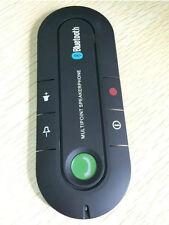 Wireless Multipoint Bluetooth Hands  Car Kit Speakerphone Speaker Visor Clip FH