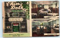 *China Doll Chinese Restaurant 627 H Street Washington DC Vintage Postcard A32