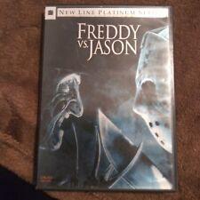 Freddy vs. Jason New Line Platinum Series Horror 2 Disc Dvd with Insert Booklet
