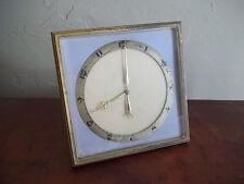 C Vintage Ateliers Juvenia 55951 Swiss Boudoir Clock Gold Hands
