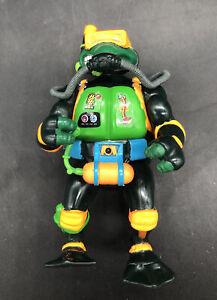 Rare Vintage TMNT Navy Seal Mike Teenage Mutant Ninja Turtles Incomplete