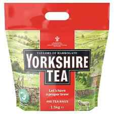 2 x Taylors of Harrogate Yorkshire Tea 480 Tea Bags 1.5kg