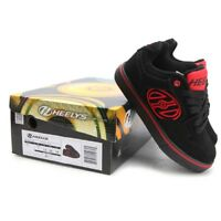 Heelys Motion Plus roller skate shoes Sneakers Black Red 770991H UK size