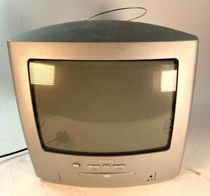 Philips 14PT6107/05 Portable CRT Retro Gaming TV DVD Player