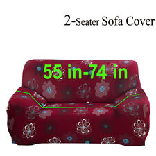 1-4 seat Floral Stretch Couch Cover Slipcover For L Shape Sectional Corner Sofa