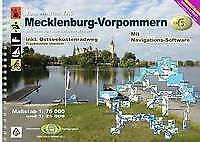 TourenAtlas Wasserwandern / TA6 Mecklenburg-Vorpommern von Erhard Jübermann (2020, Taschenbuch)