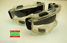 Protection Glasses Medical Dental Lab Safety Goggles Kit /2 Clear TOSCANA
