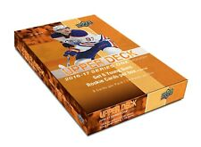 2016-17 UPPER DECK SERIES 1 HOCKEY HOBBY BOX