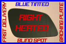 Bmw 5 Series Gt Gran Turismo F07 2009+ Wing Mirror Glass Blue Blind Spot Right
