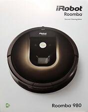IROBOT Roomba 980, Rund, Schwarz, Staubsaugerroboter - Neu & OVP, Händler