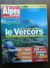 ALPES LOISIRS N° 15 LE VERCORS , GROTTES FÉERIES EN SOUS SOL