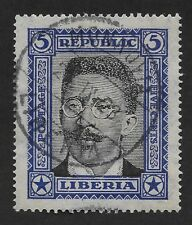 Liberia 1923 Local Motifs used 5c (DX4)