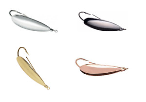 Johnson Silver Minnow Spoon - Choice of Sizes and Colors