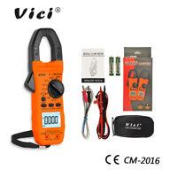 AC/DC Multimètre testeur pince amperemetrique digital voltmètre AMP électrique