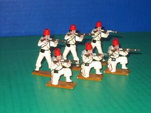 Glossy Painted Hard to Find Trophy Egyptian Soldiers
