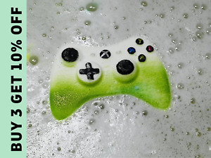 Game Controller Bath Bomb, Present for Gamer Boys or Girls. Xbox kids gift