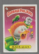 106b Rare OS3 Vintage Retro 1986 Garbage Pail Kids GPK Topps Collection Card 296