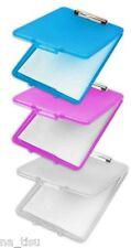 A4 Caja Portapapeles Archivo rosa caso de almacenamiento de oficina durable Impermeable sólo documentos